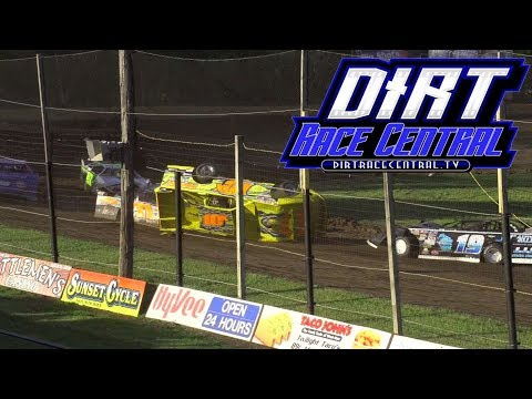 Blake Swenson Roll Over 6/4/27 Casino Speedway Heat Race