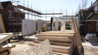 Timber Frame House Construction in Reading