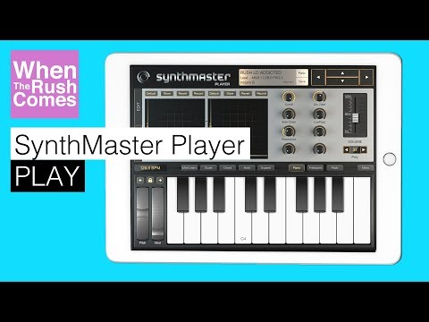SynthMaster Player   PLAY Trance / EDM sounds (iPad iOS synthesizer app)
