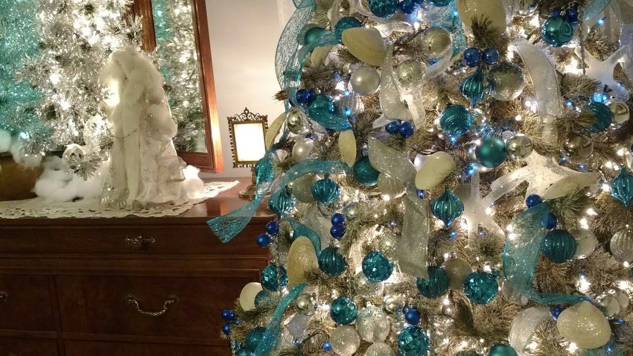 Christmas 2017 Nautical Inspired Christmas Tree And Room