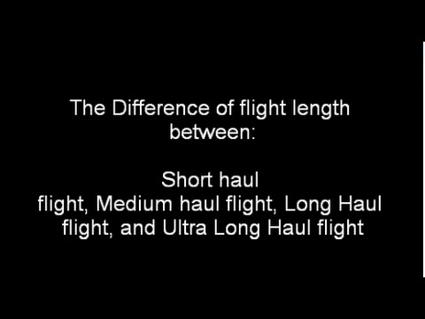 The Difference Of Flight length
