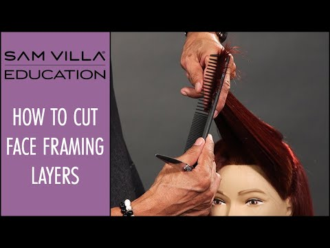 How to Cut Face Framing Layers