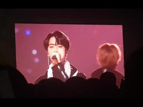 BTS TEARY-EYED WHILE SINGING 'BORN SINGER' @ WINGS TOUR FINAL IN SEOUL D-1 171208