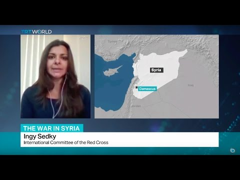 Interview with Red Cross on the latest aid convoy to Homs in Syria