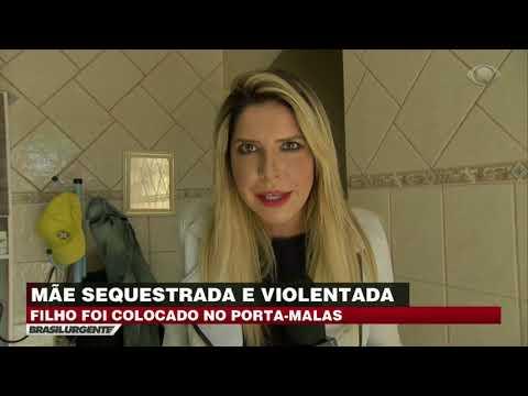 Mãe é sequestrada com filho e abusada em seguida