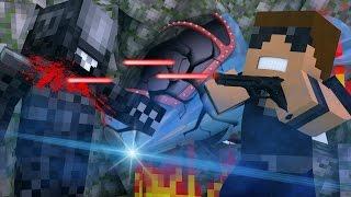 Minecraft Stranded - ALIEN MONSTER! ( Minecraft Roleplay #4 )