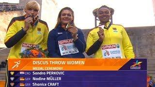 Berlin EPA - Sandra Perković - Ceremonija Dodjele Medalja