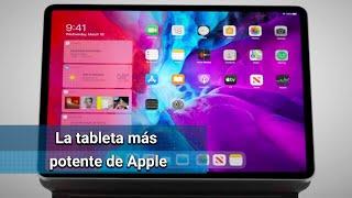 Esta tableta incluye dos cámaras traseras, escáner de medición Lidar y es compatible con teclados La tableta más potente de Apple es especialmente buena en entornos de realidad aumentada