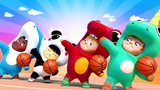BEST OF SPORTS SONGS FOR KIDS - BasketBall SuperBowl Songs and more! Nursury Rhymes One Zeez