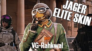 Rainbow Six Siege: Ranked - The Flying Ace (New Jäger Elite Skin)