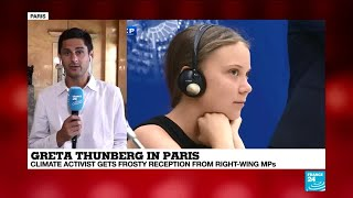 Thunberg's address to France was 'powerful, passionate, and well-informed'