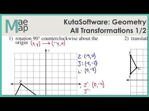 KutaSoftware: Geometry- All Transformations Part 1