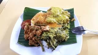 Gambar cover Geylang Serai Food Centre. Hajjah Mona Nasi Padang, Sinar Pagi Nasi Padang, Cendol Geylang Serai