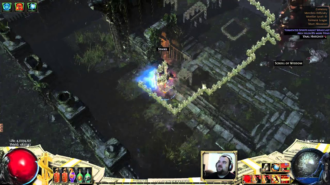 Path of Exile Cemetery Map and Boss Guide