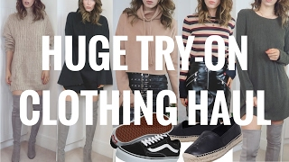 HUGE TRY ON HIGH STREET CLOTHING & LUXURY FOOTWEAR HAUL | CIARA O DOHERTY