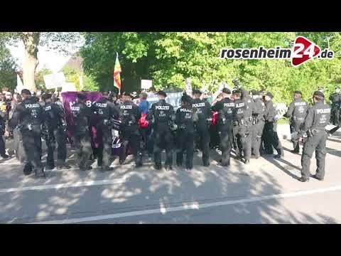 "Polizei: ""Linksautonome fordern"