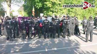 """Polizei: """"Linksautonome fordern Einsatzkräfte heraus"""""""