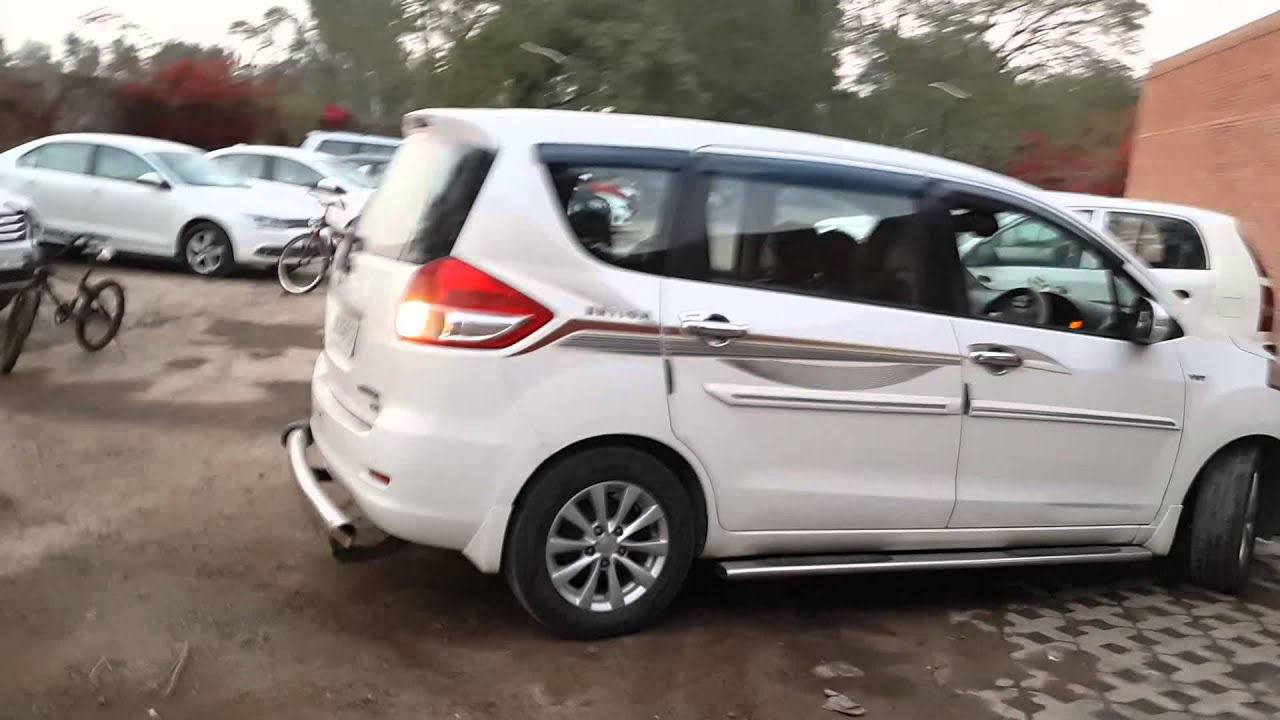 A 15 Year Old Boy Driving Maruti Ertiga In India