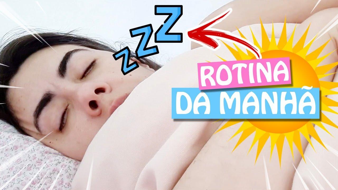 MINHA NOVA ROTINA DA MANHÃ ✈️ Vlog Jr e Mi