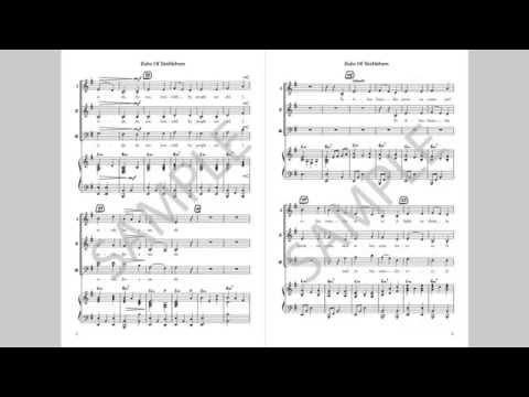 Babe Of Bethlehem - MusicK8.com Choral Octavo