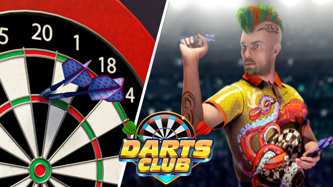 Darts Club by BoomBit Games | iOS App (iPhone, iPad) | Android Video Gameplay