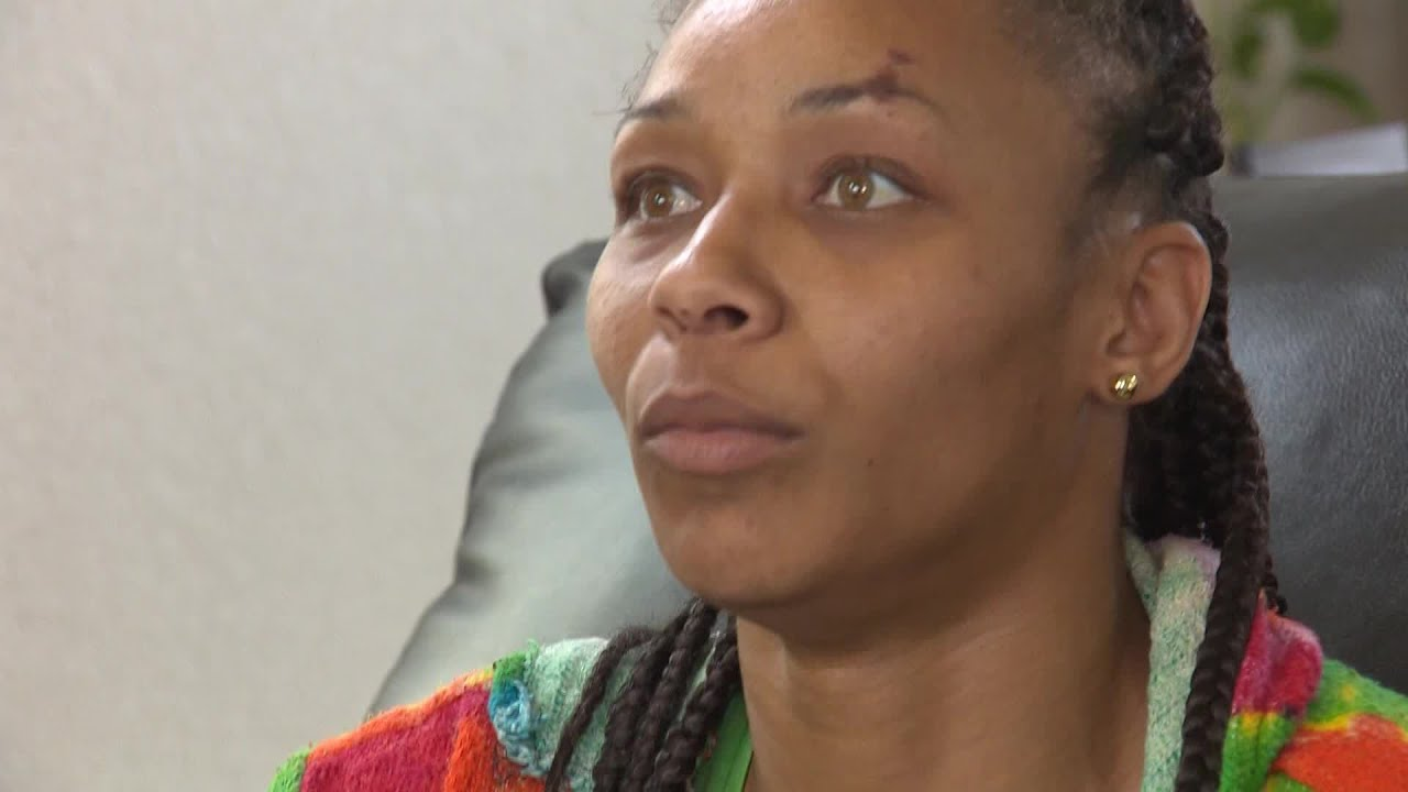 Woman describes injuries after being body slammed by officer