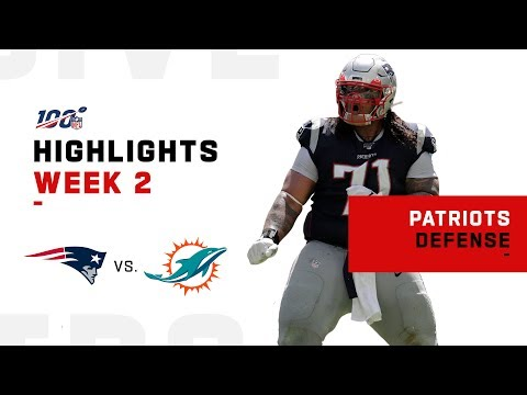 Pats Defense Was Lights Out w/ 4 INTs vs. Dolphins | NFL 2019 Highlights