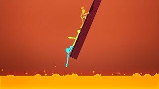 DON'T FALL DOWN! (Stick Fight #9)