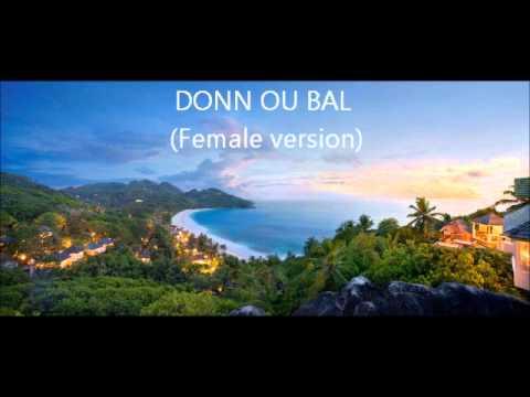Tania- Donn Ou Bal (Remix Female Version)