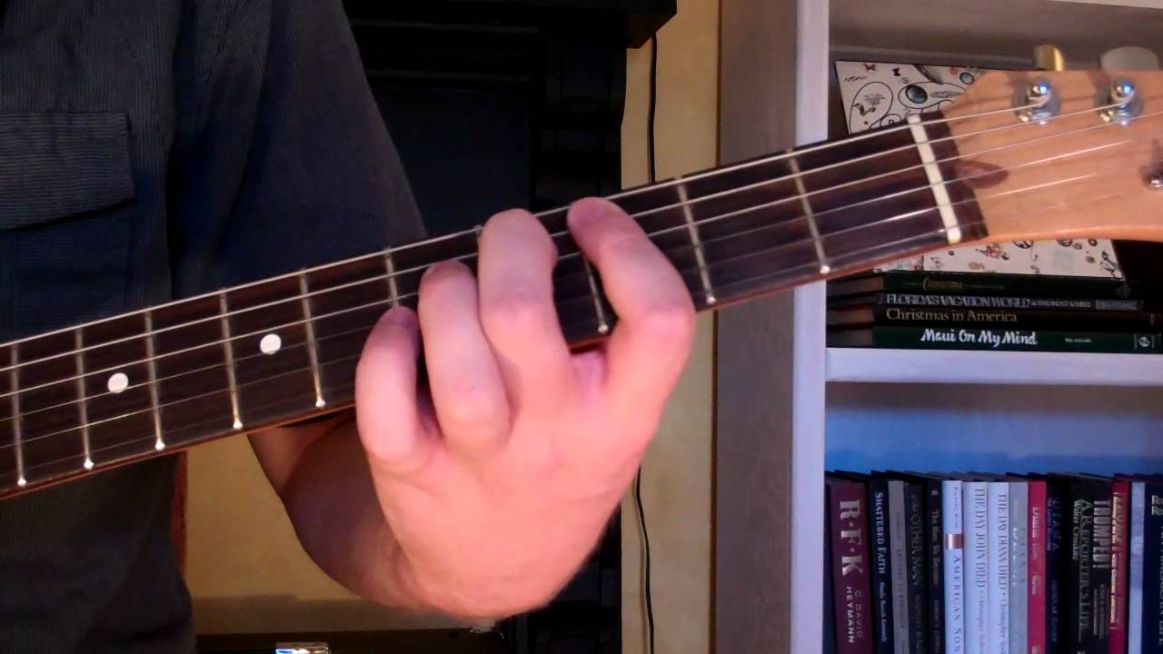 How To Play The C7 5 Chord On Guitar C 7th Diminished 5th Youtube