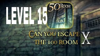 Can You Escape The 100 room X level 15 Walkthrough