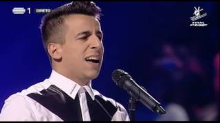 Fernando Daniel - Chandelier (Sia) | Gala Final | The Voice Portugal