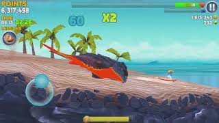 Game Android #1119 Hungry Shark Evolution Pyro Shark Android Gameplay