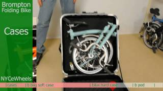 Brompton folding bike - Travel cases