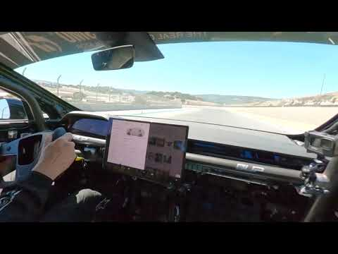 Unplugged Performance Tesla Plaid Model S Over 150mph @ Laguna Seca w/Randy Pobst - Alien Technology