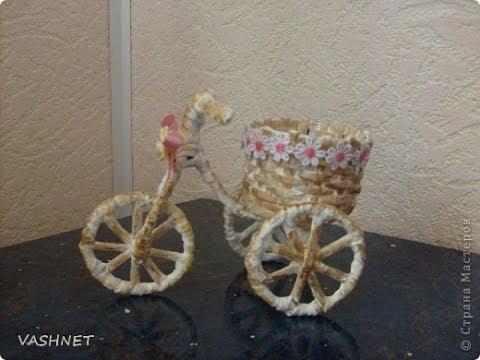 DIY декоративный велосипед своими руками