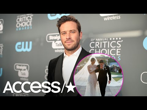 Armie Hammer's Daughter Was A Flower Girl In Nick Jonas & Priyanka Chopra's Wedding | Access