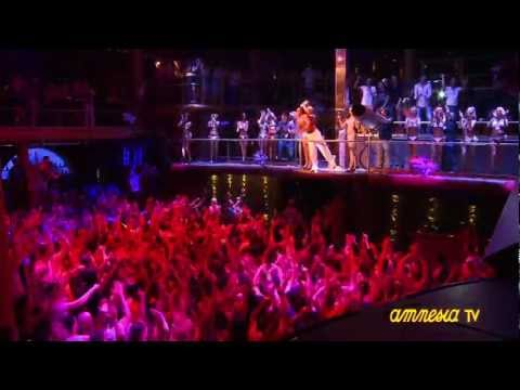 Amnesia Ibiza Dancers at Espuma Party