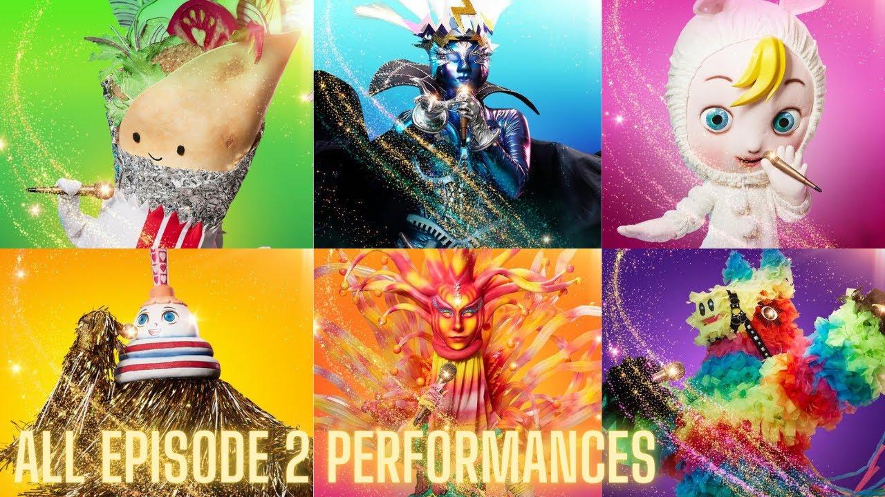 Download All Episode 2 Performances   The Masked Singer Season 3