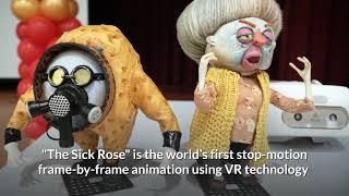 Award-winning VR Animation: Sick Rose