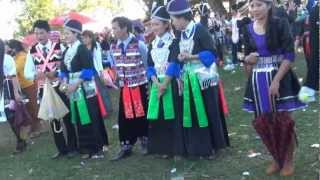 Hmong New Year In Laos 2013