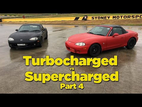 Turbocharged Vs Supercharged - Part 4 [Skid Pan Battle]