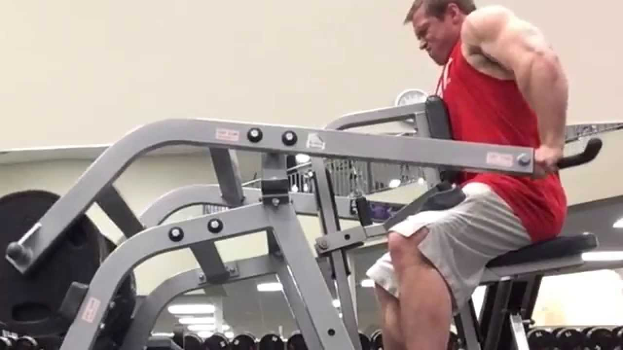 10th Set Of 10 Gvt Hammer Strength Tricep Press With