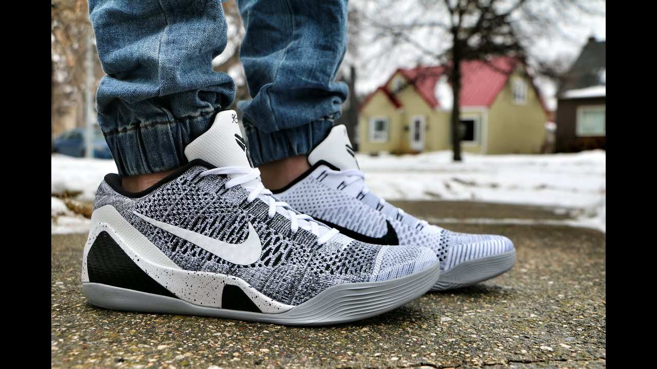 0be2ac60dbe0 Nike Kobe 9 Elite Low Beethoven - Review + On Foot - YouTube