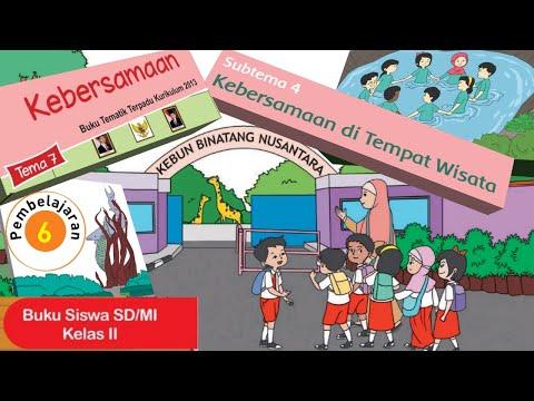 Kelas 2 Tematik : Tema 7 Subtema 4 Pembelajaran 6 (Halaman 209-215)
