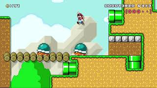 Showcase - Super Mario Maker World - Buzzy Basin 4 by bunny