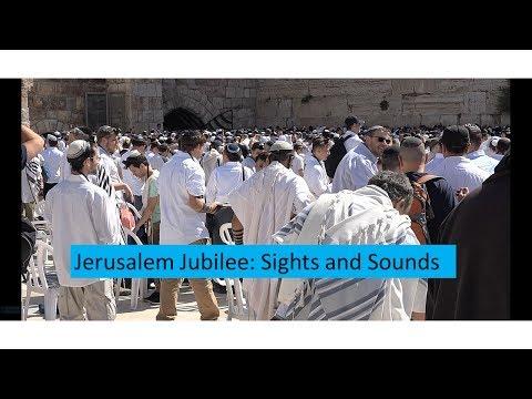 Jerusalem 50th Anniversary: Sights And Sounds