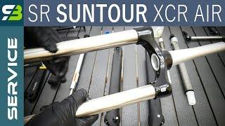 Finally! SR Suntour XCR Air LOR Suspension Fork Service. FULL Overhaul.