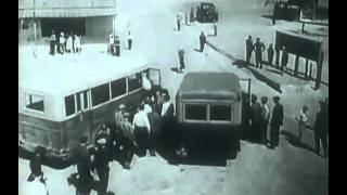 Баку Сабунчинский вокзал электричка  1940 год.avi