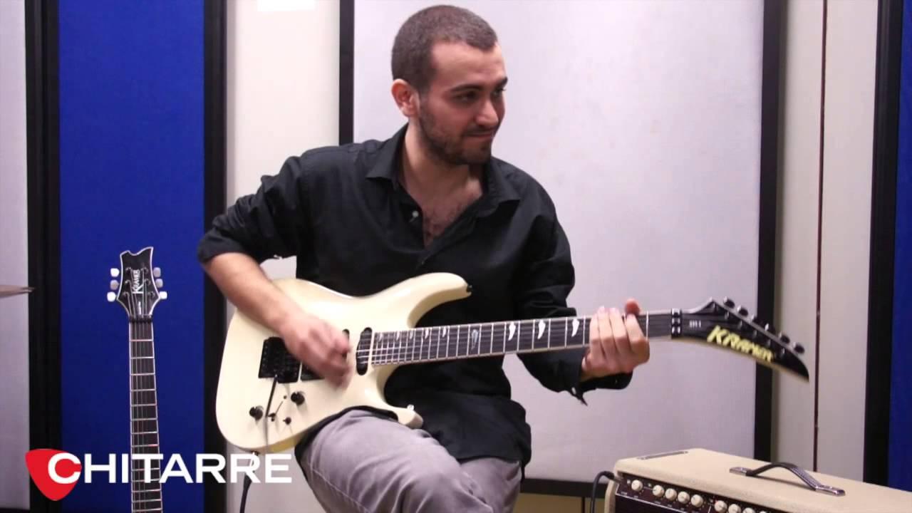 Kramer sm 1 di dario vero youtube for Chitarre magazine